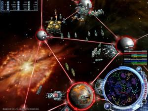 軍事帝國の兵器「惑星間噴進弾」による対惑星爆撃