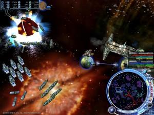 軍事帝國の『最終戦争艦』が敵惑星を破壊した瞬間